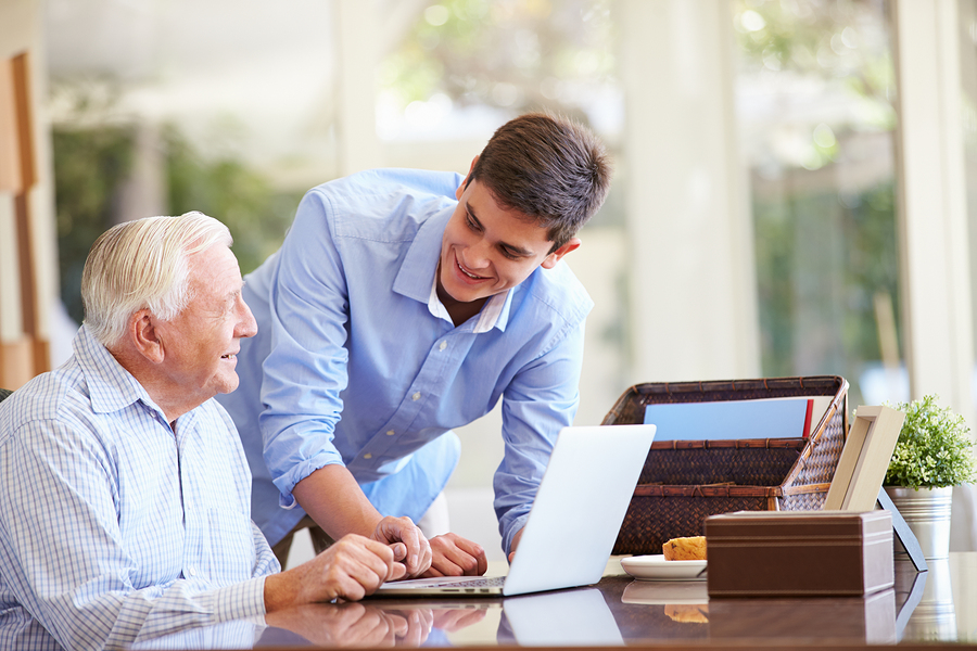 Boosting Cybersecurity for Elderly Loved Ones