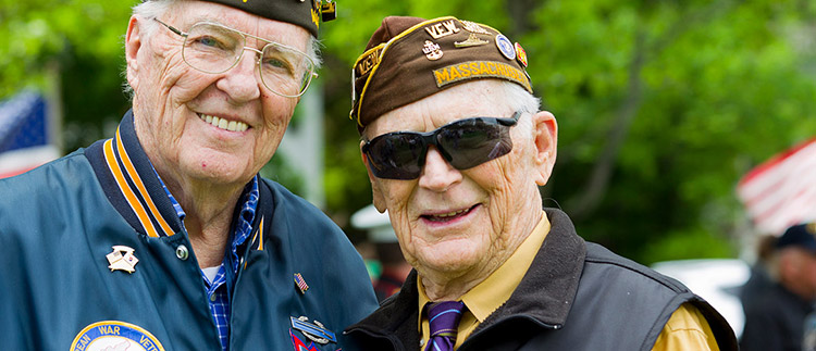 Two veterans