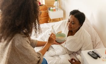 Being a Caregiver for Mom Can Take a Toll